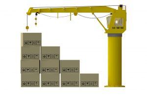 Jib overhead crane diagram