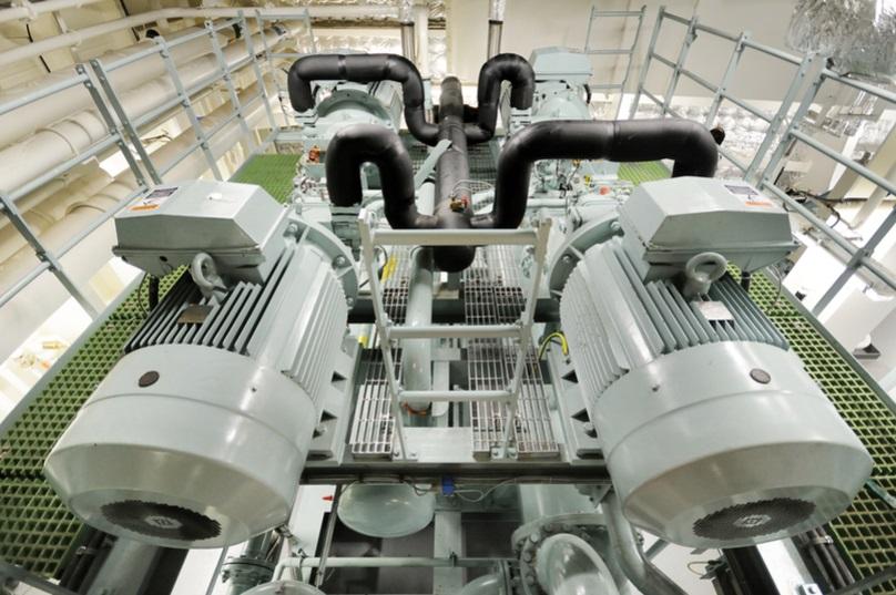 Industrial pump repair example