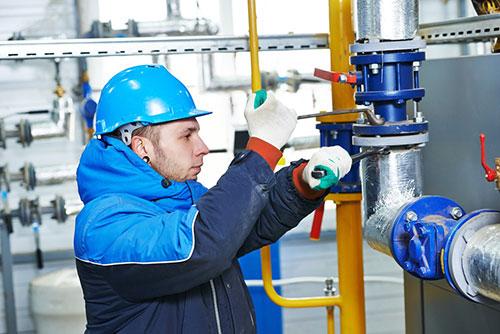 Industrial pump repair technician