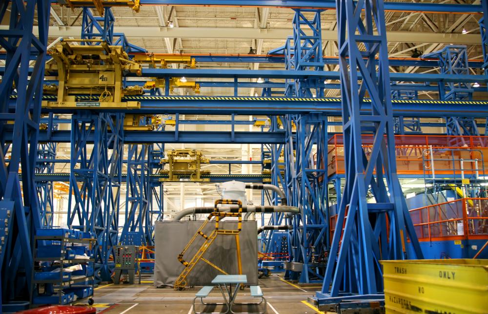 Crane in need of an overhead crane inspection in Atlanta, GA